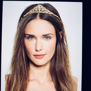 Dauphine's x Free People Bridal Tiara Headband NWT